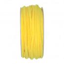 Filzband, 4mm diameter, lengte 15m, citroengeel